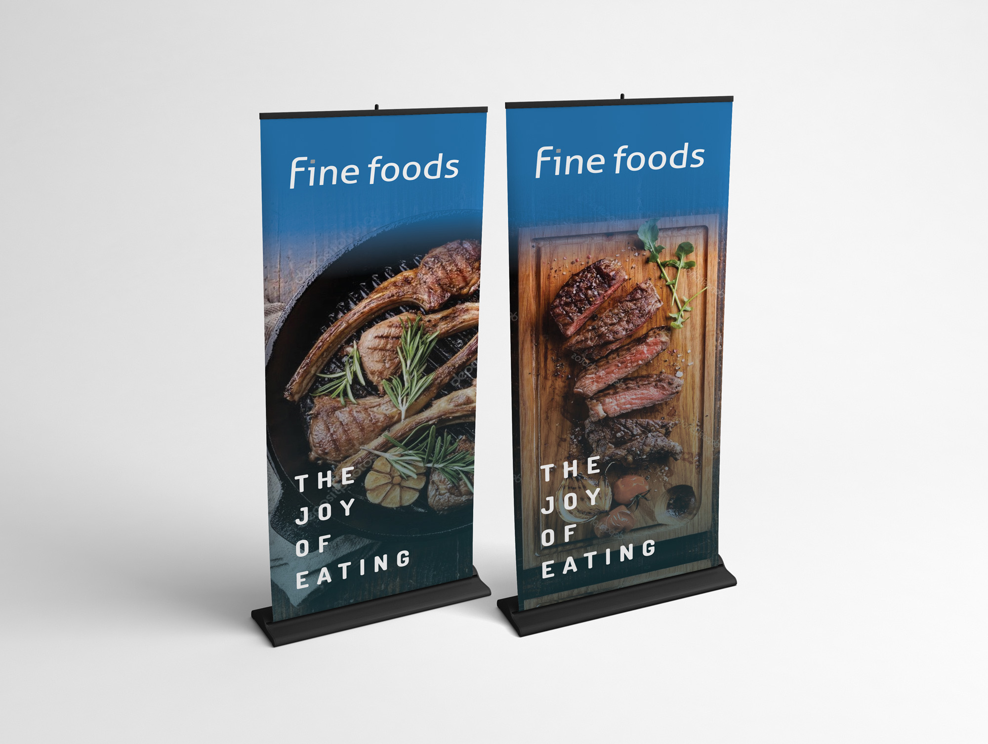 Rollup-banners-lamb-beef-gradient-mockup